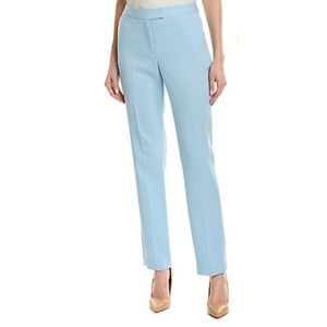Tahari Pastel Blue Straight Leg Ankle Pants